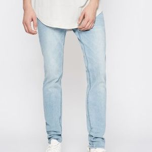 PACSUN | mens light active stretch skinny jeans
